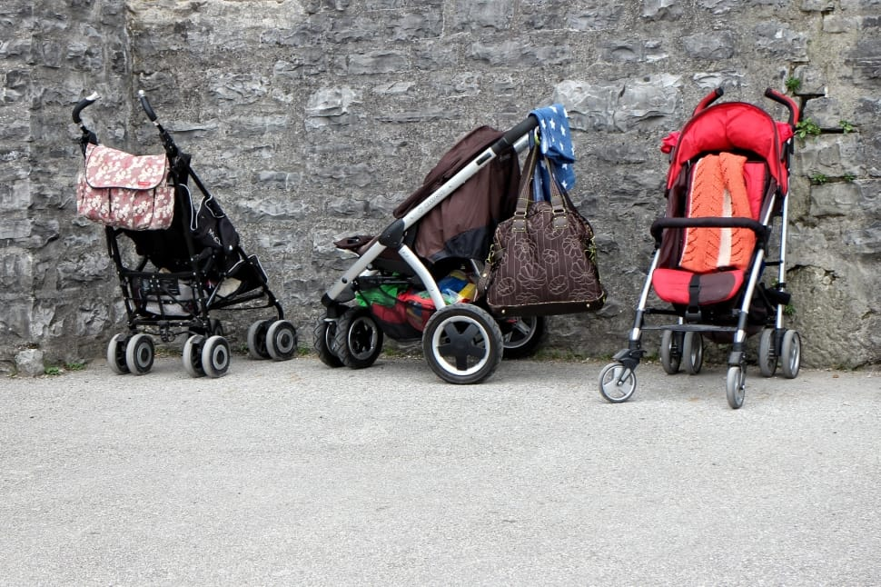 strollers diffrent child age groups